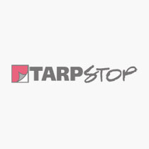 Mesh Safety Flag - Red (2 Brass Grommets)